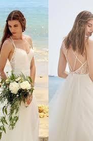 lace backless wedding dress simple shoulder brace lace backless wedding dress court