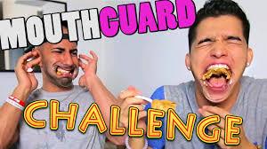 Challenge Wassabi Productions Mouthguard Challenge Ft Fousey