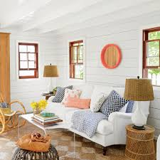 amazing bahamas cottage makeover coastal living inside cypress walls and reclaimed heart pine floors anchor the rooms and new doors