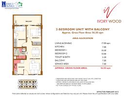 Naia Terminal 1 Floor Plan by Ivory Wood Acacia Estates Taguig City Dmci Homes Property Finder