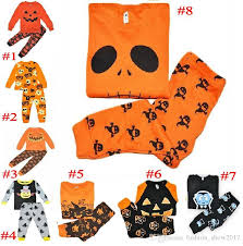 Boys Pumpkin Halloween Costume Kids Clothing Sets Baby Girls Boys Pumpkin Halloween Costumes