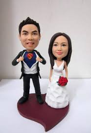 cake toppers bobblehead wedding cake topper bobbleheads custom toppers picturesque design