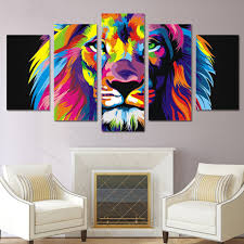 online get cheap colorful lion poster aliexpress com alibaba group