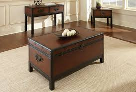 trunk coffee table set dallas designer furniture voyage trunk coffee table set