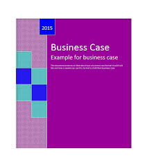 30 simple business case templates u0026 examples template lab