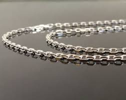 jewelry silver chain necklace images 24 inch chain etsy jpg