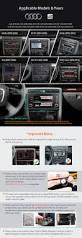 for audi a4 s4 rs4 car stereo 2 din radio dvd 7