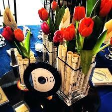 football centerpieces banquet centerpiece ideas a simple football themed centerpiece for