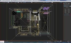 3d model home interior floor plan 01 cgtrader