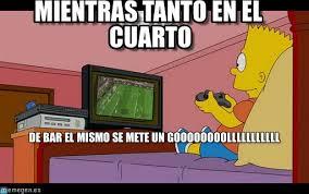 Bart Simpson Meme - mientras tanto en el cuarto bart simpson meme on memegen