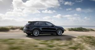 porsche suv interior 2017 the 2019 porsche cayenne has a familiar face that hides new