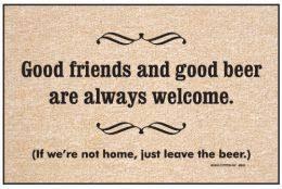 Doormat Leave Beer Doormats U0026 Funny Wine Kitchen Mats