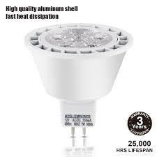 Led Light Bulb Mr16 by Torchstar Dimmable Mr16 Gu5 3 Led Light Bulb 7w 50w Equivalent