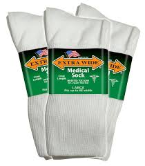 amazon com extra wide medical diabetic socks for men 11 16 up