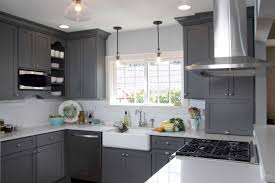 kitchen cabinets gray stain the popularity of gray continues to grow at dura supreme