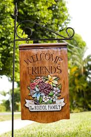 Personalized Garden Decor Decorative Outdoor Sign Post Personalized Yard Signs Signs For