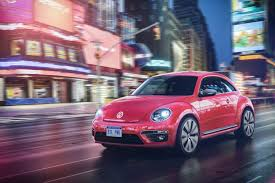 pink convertible cars meet the 2017 volkswagen pinkbeetle the car named after its own