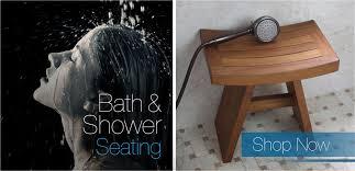 teak shower bench teak bath stools teak furniture aquateak