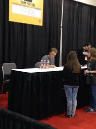 videos and photos of tom felton at calgary expo feltbeats com