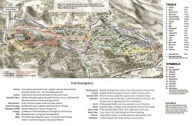 Squaw Trail Map Maps Of Lake Tahoe Area Maps Trail Maps Street Maps Lake