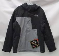 men s mountain light jacket north face mens mountain light triclimate jacket a33pp monument grey