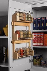 kitchen cabinet door storage racks spice rack attach to inside of cabinet door for organized