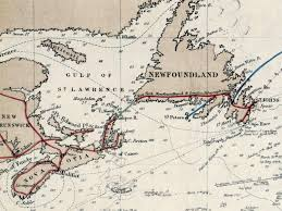 Undersea Cable Map History Of The Atlantic Cable U0026 Submarine Telegraphy Atlantic