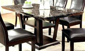 white marble top dining table set cool modern marble dining table in white color pros and cons top