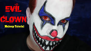 Halloween Makeup Clown Faces by Evil Clown Makeup Tutorial Halloween 2013 Youtube