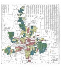 map of columbus redlining engaging columbus