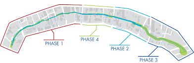 El Paso Zip Code Map by San Pedro Creek Improvements Project U2013 Connecting Communities