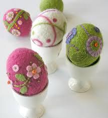 felted easter eggs 6 essential easter patterns loveknitting
