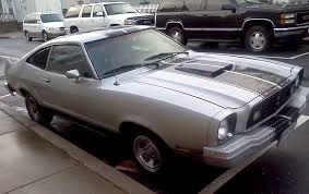 ford mustang 77 silver 1977 ford mustang cobra ii hatchback mustangattitude com