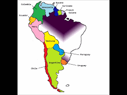 South America Map Countries by South American Countries Mnemonic Youtube
