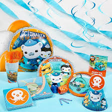 octonauts party supplies octonauts deluxe party kit walmart