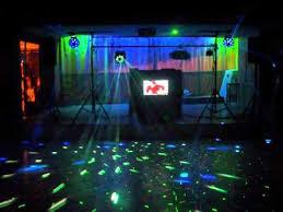 dj light set up