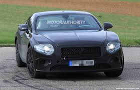 bentley continental gt spy shots and video autozaurus