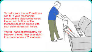 Sofa Bed Mattress How To Measure A Sofa Bed Mattress