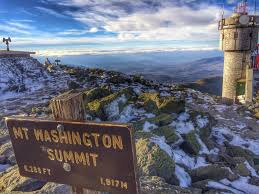 Mt Washington Map by White Mountains Mt Washington Nj Ny Hikes