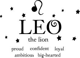 amazon com leo the lion horoscope zodiac vinyl wall art decal