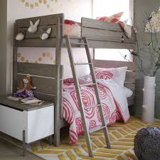 Camper Bunk Bed Sheets by How To Style A Girls Bedroom Bunk Bed Honest To Nod