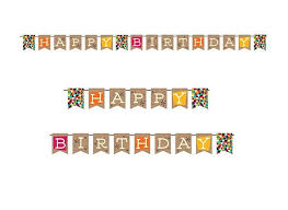 Happy Birthday Flags Sweet Pea Parties Happy Birthday Banners