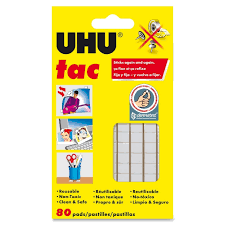 How To Get Pen Off Walls by Amazon Com Saunders Uhu Tac Removable Adhesive Putty Tabs 2 1