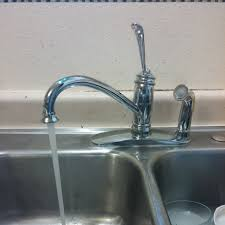 replacing kitchen faucet stitch and boots