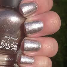 sally hansen complete salon manicure hi ho silver u0026 gilty party