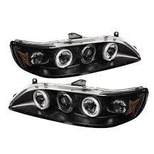 Honda Accord Lights Spyder Auto Honda Accord 98 02 1pc Projector Headlights Ccfl