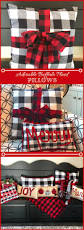buffalo plaid and christmas one of my favorite home decor