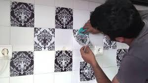 stickers pour carrelage mural cuisine stickers carrelage mural cuisine avec dosseret tile installation de