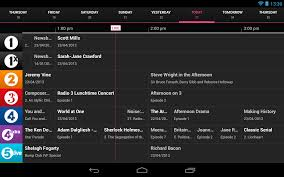 tv guide for android new app iplayer radio now available on android complete with