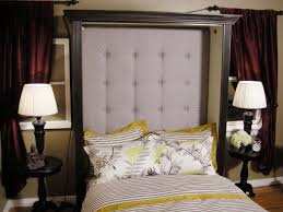 Homemade Headboard Ideas by How To Make A Tufted Headboard Hgtv